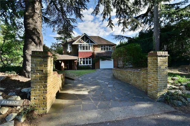 Thumbnail Detached house for sale in Langley Park Road, Iver, Buckinghamshire