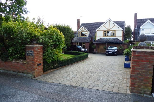 Thumbnail Detached house for sale in Stratfield Drive, Broxbourne