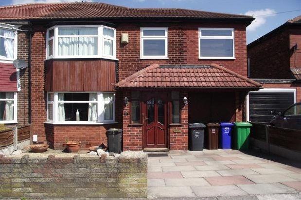 Thumbnail Semi-detached house to rent in Kinburn Road, Burnage
