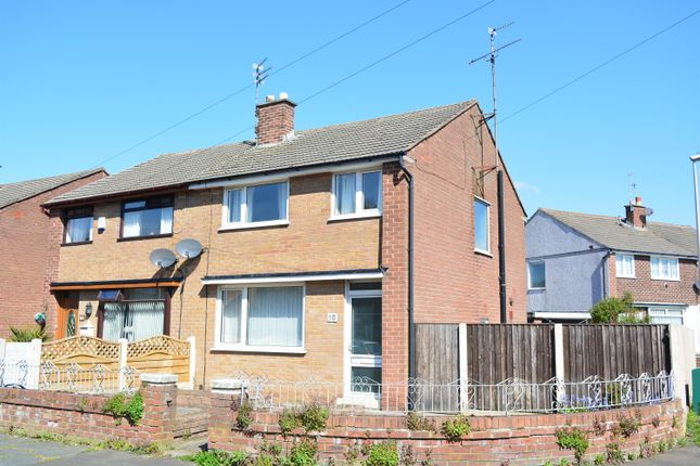 Thumbnail Semi-detached house for sale in Meanwood Avenue, Marton, Blackpool