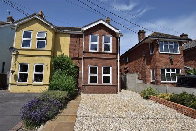 Thumbnail Semi-detached house to rent in Gore Road, New Milton