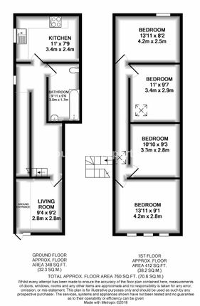 Thumbnail Flat for sale in Marine Street, Cwm, (Top Flat), Ebbw Vale, Blaenau Gwent.