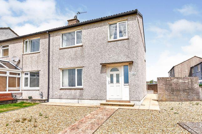 Thumbnail End terrace house for sale in Brayton Park, Aspatria, Wigton, Cumbria