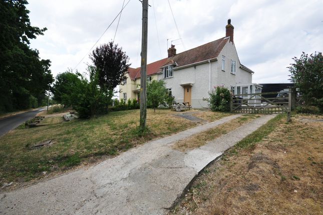 Thumbnail Semi-detached house for sale in High Street, Thelnetham, Diss