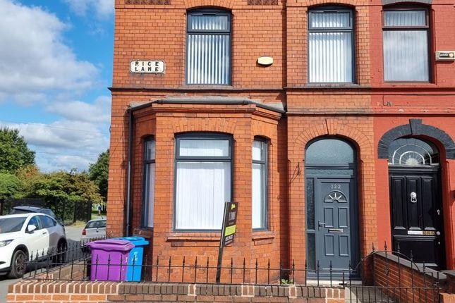 Thumbnail Terraced house to rent in Rice Lane, Walton, Liverpool