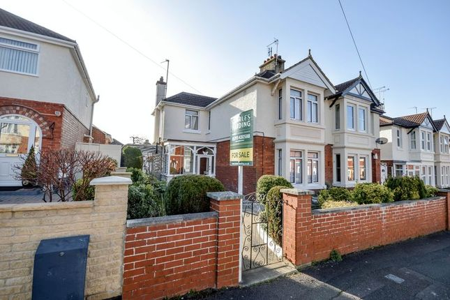 Thumbnail Semi-detached house for sale in Grosvenor Road, Swindon