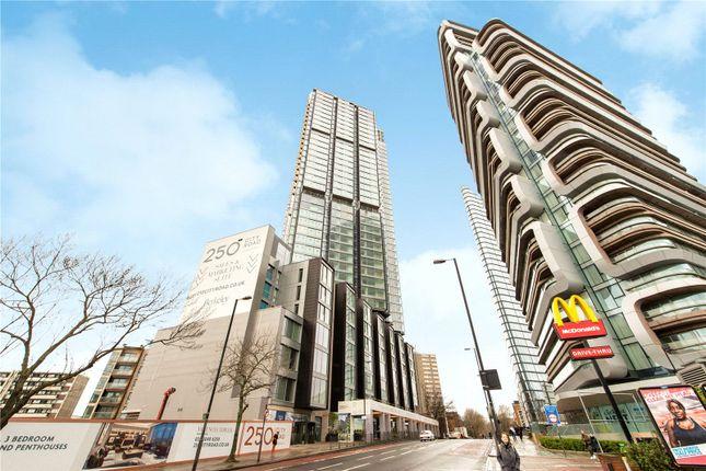 External of Carrara Tower, 250 City Road, London EC1V