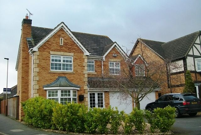 Thumbnail Detached house for sale in Avington Close, Leicester
