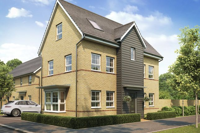 "Thumbnail Detached house for sale in ""Hesketh"" at The Ridge, London Road, Hampton Vale, Peterborough"