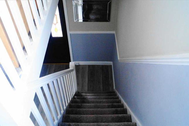 Staircase of Arundel Crescent, Solihull B92