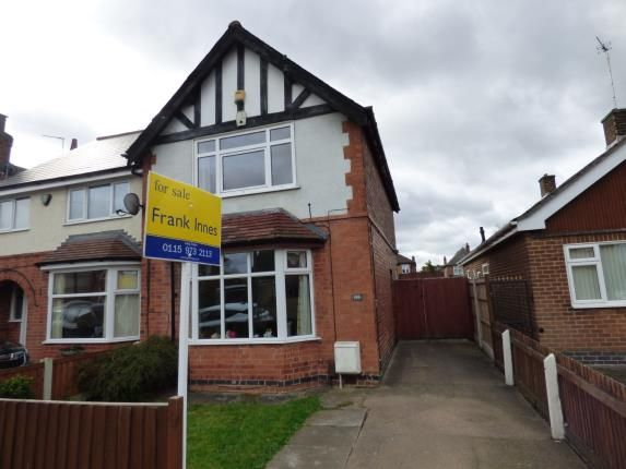 Thumbnail Semi-detached house for sale in Breedon Street, Long Eaton, Nottingham