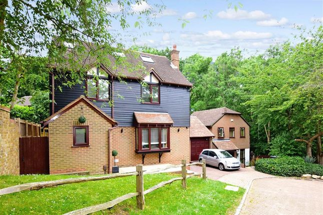 Thumbnail Detached house for sale in Gean Close, Walderslade Woods, Chatham, Kent
