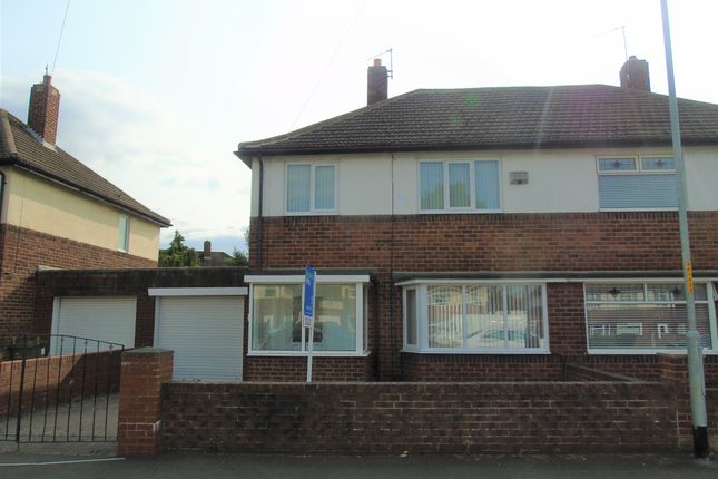 Thumbnail Semi-detached house to rent in Farndale Green, Stockton-On-Tees