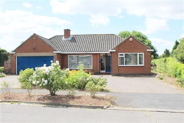 Thumbnail Bungalow for sale in Stoneleigh Close, Stoneleigh, Coventry