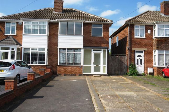Thumbnail Semi-detached house to rent in Ronald Grove, Castle Bromwich, Birmingham