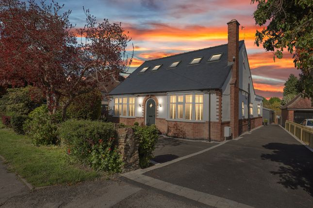 Thumbnail Detached bungalow for sale in Queen Mary Road, Somersall, Chesterfield