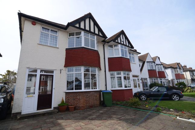 Thumbnail Semi-detached house for sale in Castleford Avenue, New Eltham