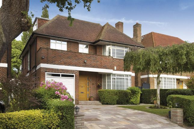 Thumbnail Detached house to rent in Spencer Drive, Hampstead Garden Suburb