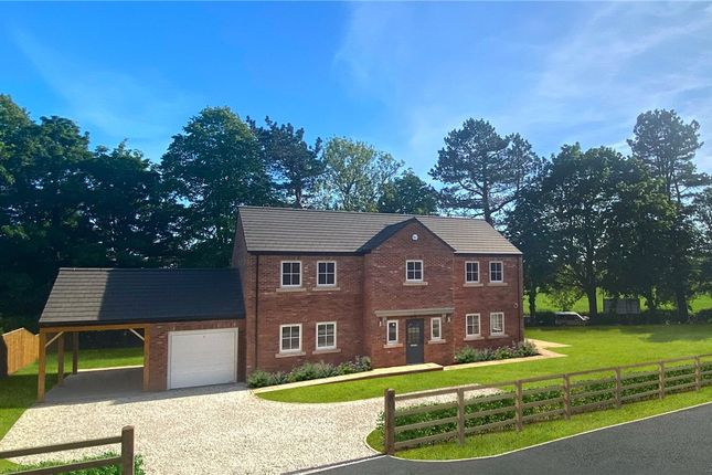 Thumbnail Detached house for sale in Red House Gardens, Bishop Monkton, Near Harrogate, North Yorkshire