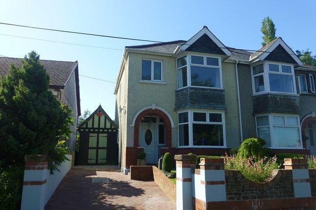 Thumbnail Semi-detached house for sale in Pontamman Road, Ammanford, Carmarthenshire.