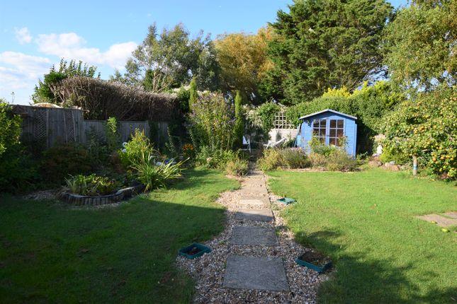 Rear Garden of South Close, Pevensey Bay BN24