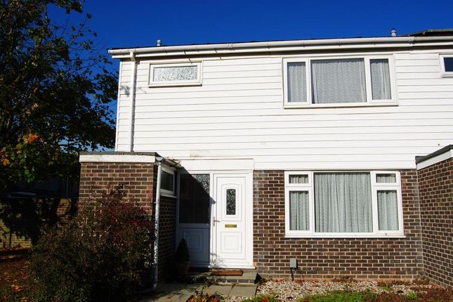 Thumbnail End terrace house to rent in Moorland Road, Witney, Oxon