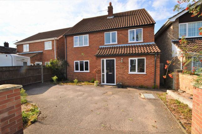 Thumbnail Detached house for sale in Neville Road, Sprowston, Norwich