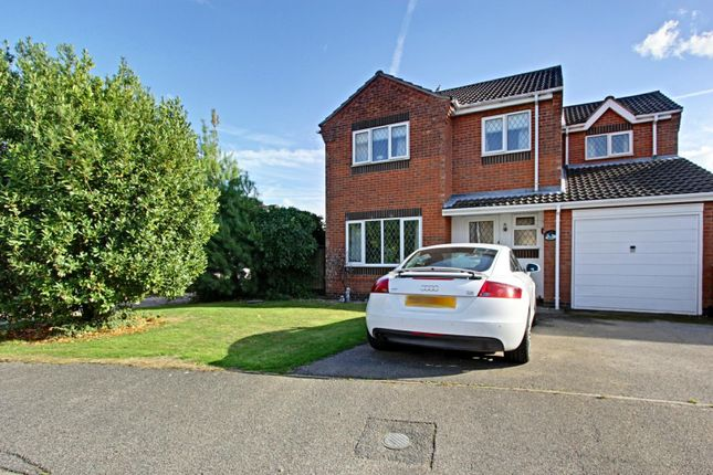 Thumbnail Detached house for sale in Willow Close, Ulceby, Lincolnshire