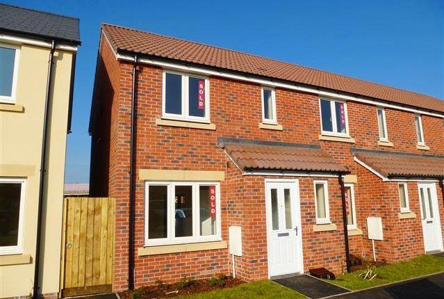 Thumbnail End terrace house to rent in Hardys Road, Bathpool, Taunton