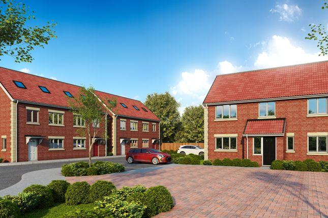 Thumbnail Semi-detached house for sale in Chippenham Road, Lyneham, Chippenham
