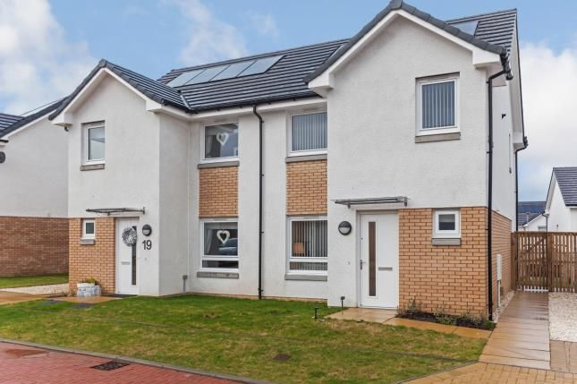 Thumbnail Semi-detached house for sale in Kirn Gardens, Gourock, Inverclyde