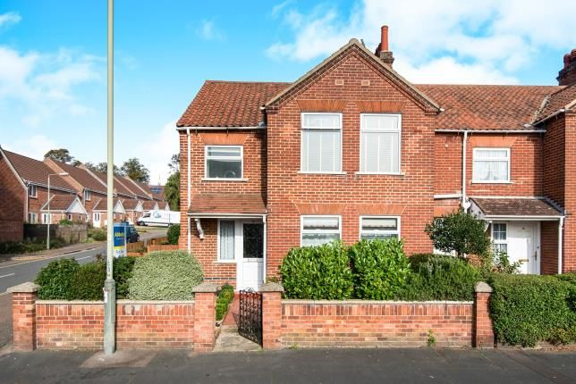 Thumbnail Semi-detached house for sale in Norwich, Norfolk