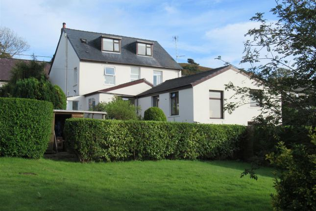 Thumbnail Detached house for sale in Glan House, Dinas Cross, Newport