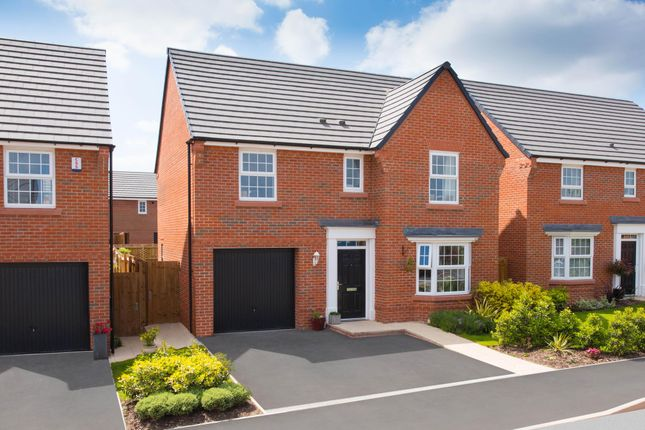"Thumbnail Detached house for sale in ""Finsbury"" at Manor Drive, Upton, Wirral"