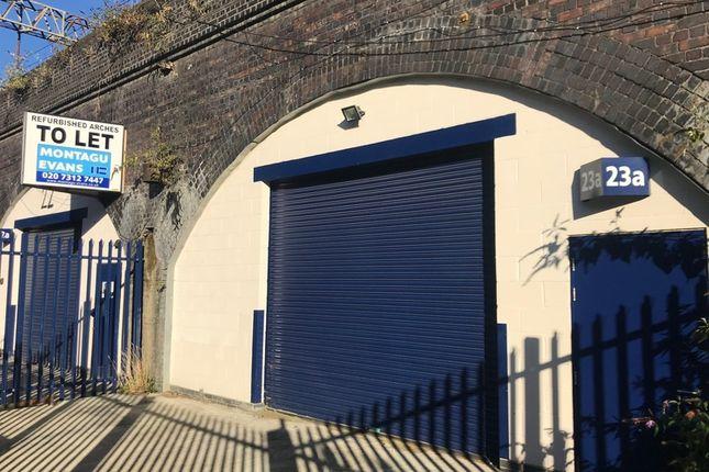 Thumbnail Industrial to let in Railway, Brady Street, London