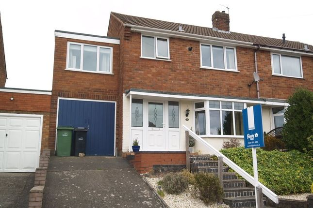 Thumbnail Semi-detached house for sale in Wychbury Road, Brierley Hill