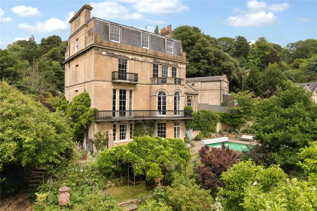 Thumbnail 6 bedroom detached house for sale in Bathwick Hill, Bathwick, Bath