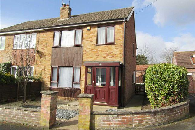 Thumbnail Semi-detached house for sale in Parkhill Rise, Winterton, Scunthorpe