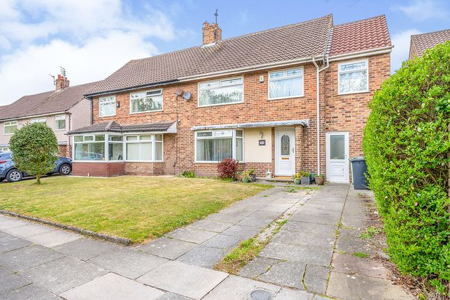 Thumbnail Semi-detached house for sale in Rimrose Valley Road, Liverpool, Merseyside