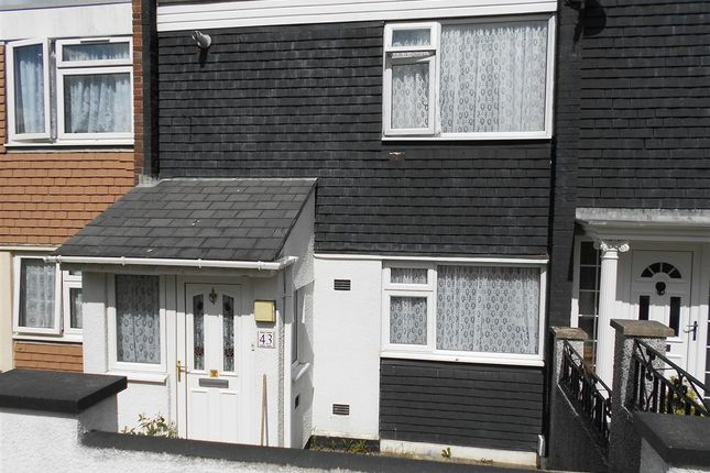 Thumbnail Terraced house to rent in Lizard Walk, Plymouth