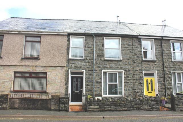 Thumbnail Terraced house for sale in Manod Road, Blaenau Ffestiniog, Gwynedd, .