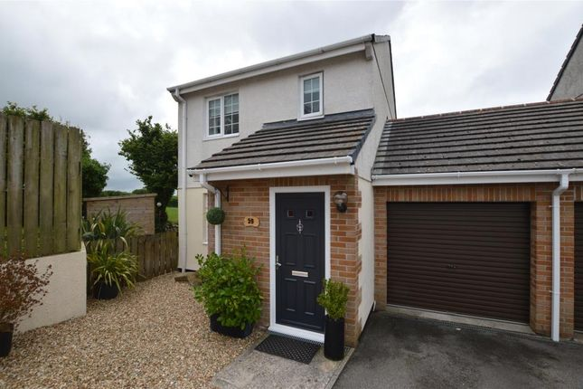 Link-detached house to rent in Fairview Park, St. Columb Road, St. Columb, Cornwall