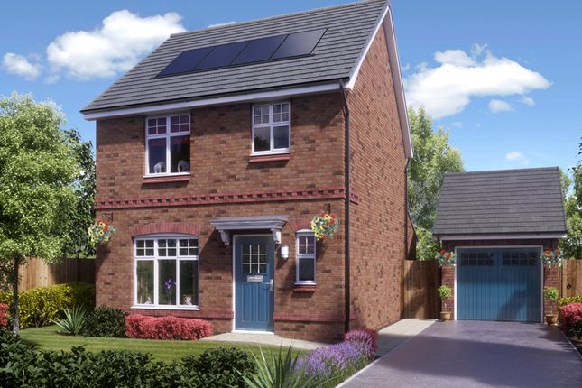 Thumbnail Detached house for sale in Longford, Blackberry Lane, Brinnington, Stockport, Greater Manchester