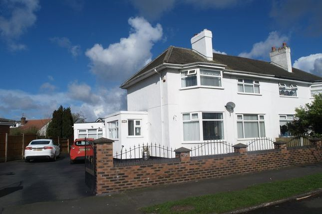 Thumbnail Semi-detached house for sale in Northway, Maghull, Liverpool