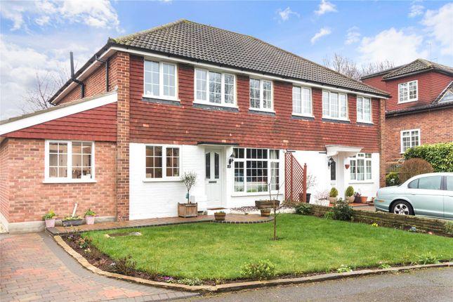 Thumbnail Semi-detached house for sale in Riverside Close, Wallington