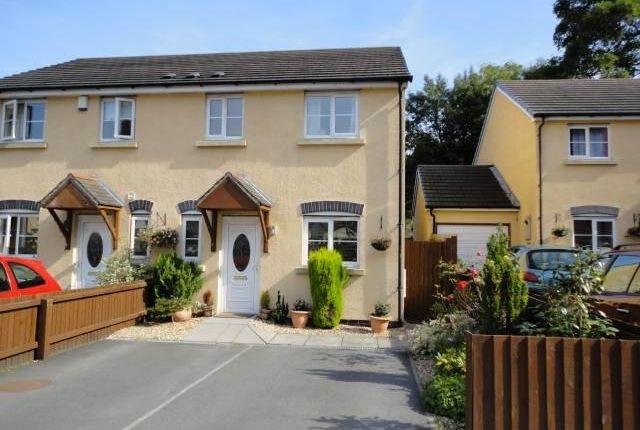 Thumbnail Semi-detached house to rent in Llwyn Melin, Clydach, Abergavenny