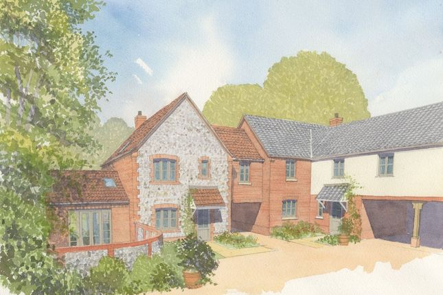 Thumbnail Link-detached house for sale in The Street, Weybourne, Holt