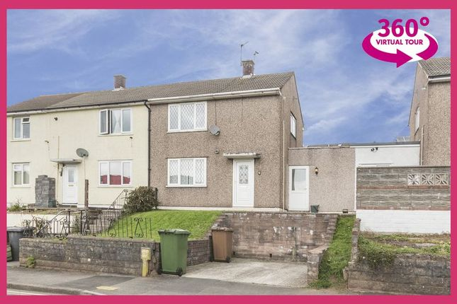 Thumbnail Semi-detached house for sale in Almond Avenue, Risca, Newport
