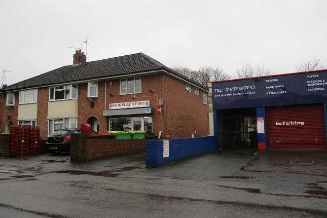 Thumbnail Flat to rent in Priorslee Road, Saint George's, Telford, Shropshire