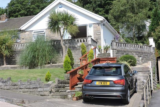 Thumbnail Detached bungalow for sale in Drymau Park, Skewen, Neath